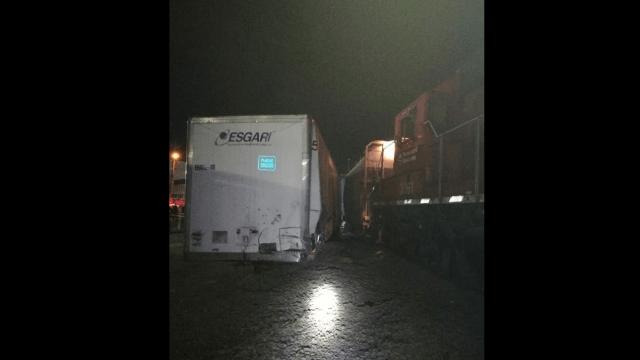 tren choque trailer zapopan accidente descarrila