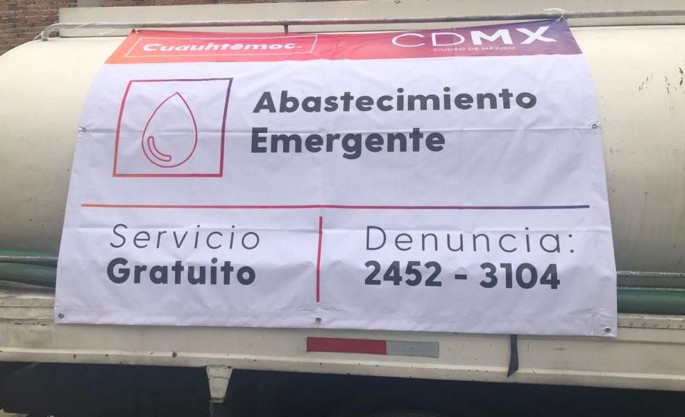 Servicio de agua se normalizaría el jueves en la CDMX