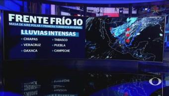 Aire Polar, Frente Frío Tormenta Invernal Afectan México