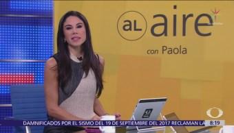 Al aire, con Paola Rojas: Programa del 23 de noviembre del 2018