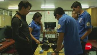 Alumnos Del Ipn Robot Rescatar Personas Prototipo De Robot Labores De Localización Y Rescate Desastre Natural