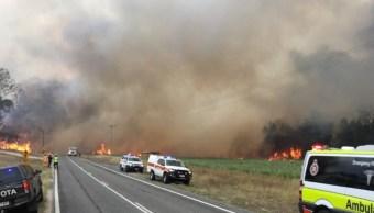 Australia: 138 incendios en Queensland y 8 mil evacuados