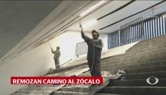 Amlo Critica Arreglos Monumento Revolución Por Visita