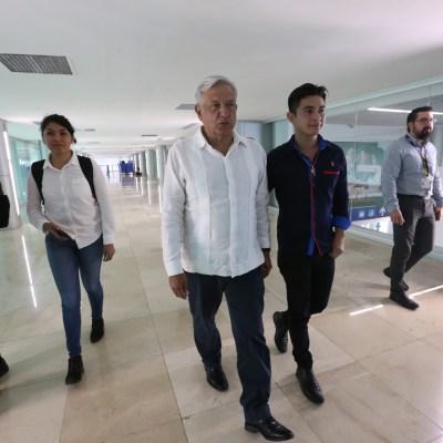 Consulta por el Tren Maya, 24 y 25 de noviembre, informa AMLO