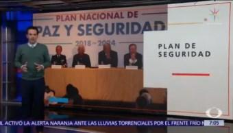 AMLO presenta Plan Nacional de Paz y Seguridad