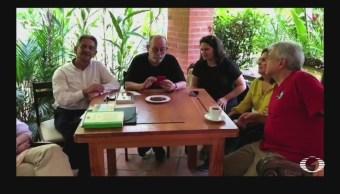 AMLO Publica Video Compañía Silvio Rodríguez