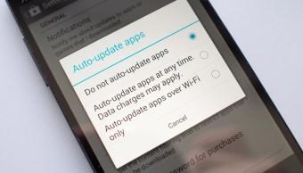 Apps de Android se actualizarán mientras las usas
