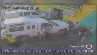 Asaltan a varias personas en La Merced, CDMX