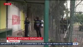 Asesinan a balazos a un hombre en Iztapalapa, Asesinan a balazos, San Lorenzo Tezonco, deportivo en San Lorenzo Tezonco, alcaldía Iztapalapa