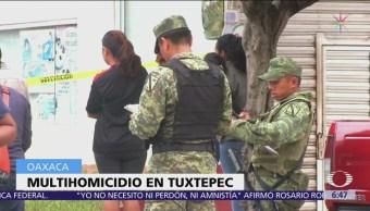 Asesinan a familia de 6 en Tuxtepec, Oaxaca