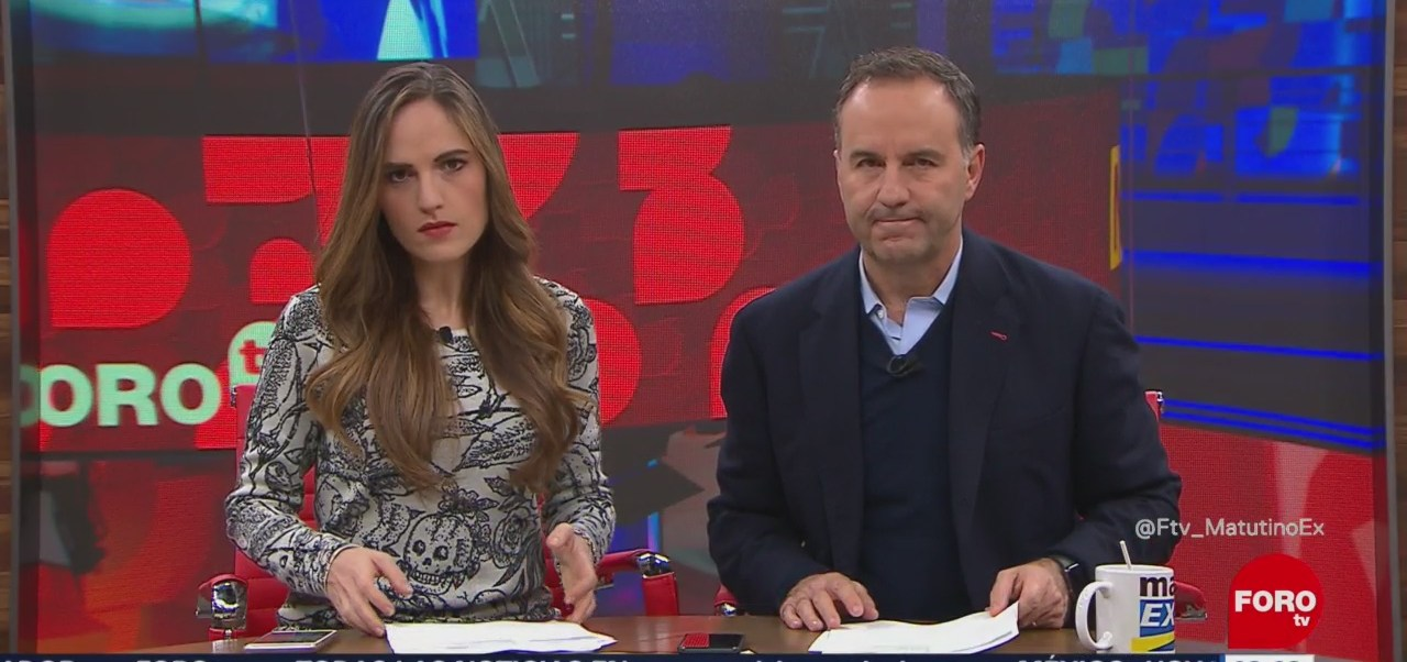Así arranca Matutino Express con Esteban Arce del 15 de noviembre del 2018