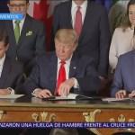 Así fue la firma del T-MEC entre México, EU y Canadá