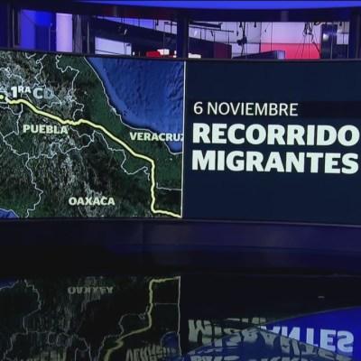 Así van las otras caravanas de migrantes