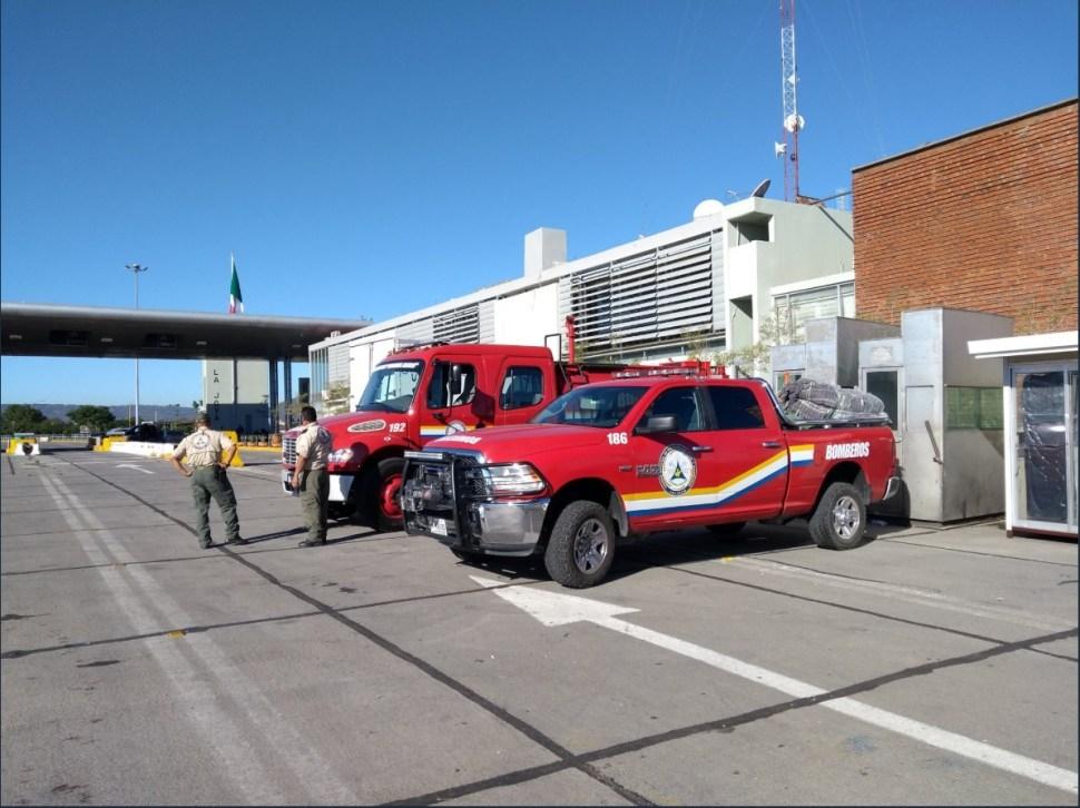 Avanzan miembros de la segunda caravana migrante por Jalisco; autoridades brinda atención médica