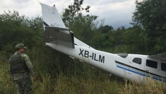 Desplome aeronave Tamaulipas mueren dos motociclistas
