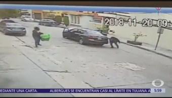 Balacera entre policías y delincuentes en San Luis Potosí