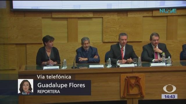 Banco de México recorta pronóstico de crecimiento