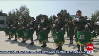 Banda de guerra integrada por mujeres