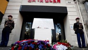 Francia recuerda a víctimas del atentado en la sala Bataclan de París