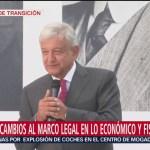 Andrés Manuel López Obrador, presidente electo de México, dice que el próximo gobierno de México busca la amistad con todos los pueblos del mundo