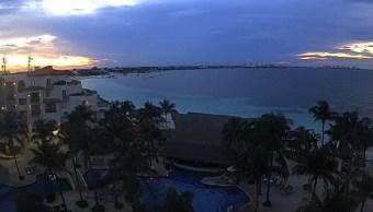 Frente frío número 8 causa lluvias en Yucatán y Quintana Roo