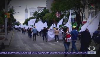 Caos en CDMX por marchas de campesinos