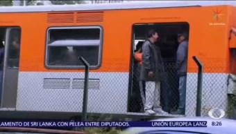Caos en la Línea 2 del Metro CDMX