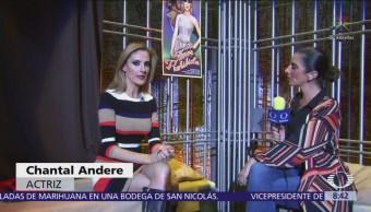 Chantal Andere da vida a Aurora en 'El Beso de la Mujer Araña'