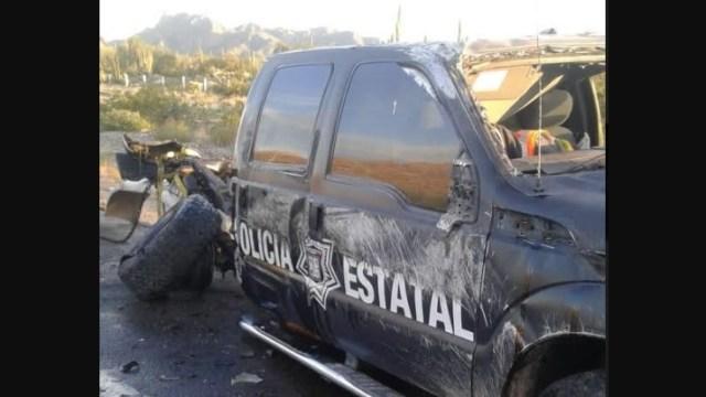 Accidente Sonora; choca camión migrantes, nueve lesionados