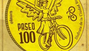 Paseo Nocturno Ciclistas de la CDMX celebran 100 rodadas