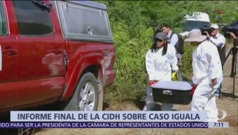 CIDH presenta informe final del caso Iguala