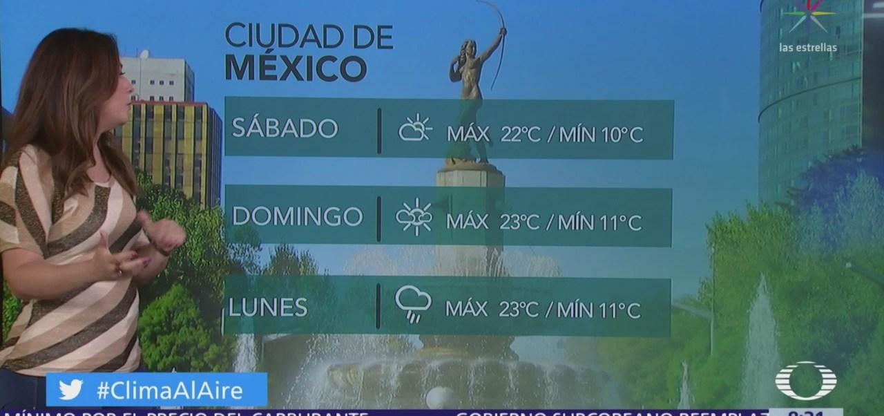 Clima Al Aire: Día caluroso y sin lluvia en la CDMX