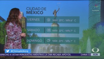 Clima Al Aire: Frío y lluvias aisladas predominarán en CDMX