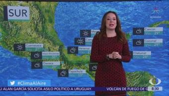 Clima Al Aire: Tiempo seco en gran parte de México
