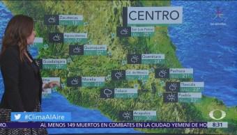 Clima Al Aire: Valle de México registrará cielo nublado