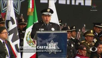 Comisionado General Policía Federal Pide Reconocimiento AMLO