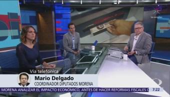 Comisiones bancarias no es prioridad en la agenda legislativa, afirma Mario Delgado