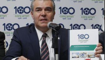 Concamin aplaude intensión de AMLO de acabar con corrupción