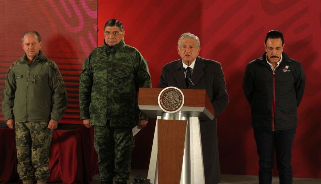 AMLO señala que plan contra huachicoleo seguirá pese a explosión en Hidalgo