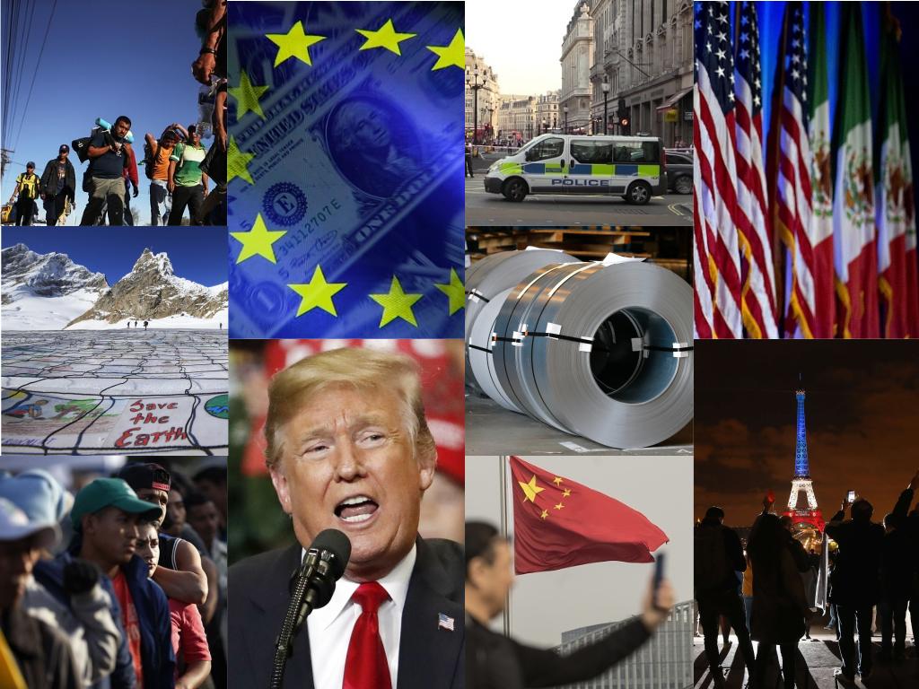 Conflictos internacionales para entender el 2018