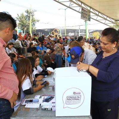 Estados del país realizan Segunda Consulta Ciudadana convocada por AMLO