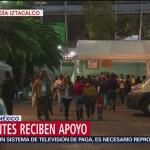Continúa la ayuda para migrantes en la CDMX