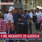 Continúan recibiendo a migrantes en alberge en de la CDMX