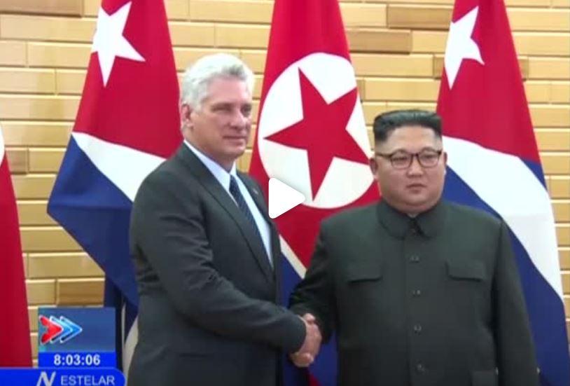 Líderes de Cuba y Corea del Norte buscan estrechar cooperación