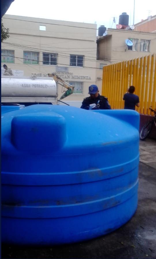 Corte de agua no afecta la tranquilidad en CDMX