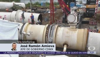 Corte de agua se extiende por contingencia más allá de periodo programado, dice Amieva