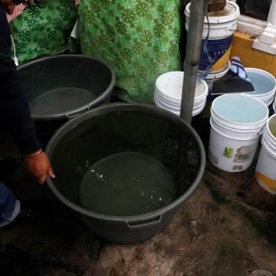 Punto crítico del corte de agua será el 5 de noviembre, estima Amieva