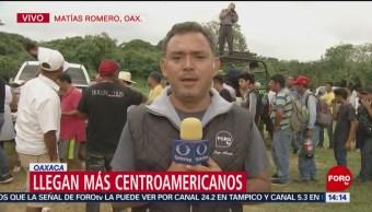Cuarta Caravana Migrante Ubica Matías Romero, Oaxaca