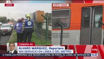 De Pino Suárez a Tasqueña, sin servicio de Metro