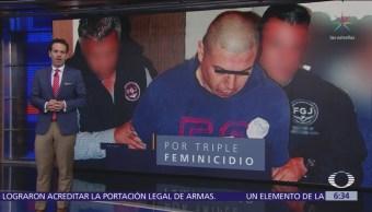 Declaran culpable a expolicía federal que asesinó a esposa e hijas